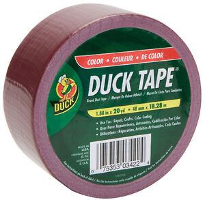 Duck Brand  Duct Tape  1.88 in. W x 20 yd. L Maroon