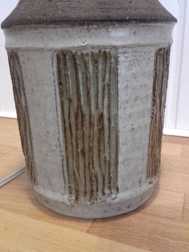 Lampe, Chris Haslev keramik