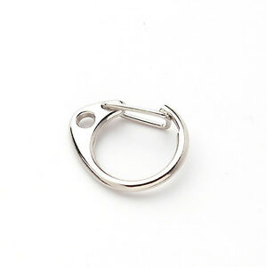 150x-Key-Ring-Clasp-Fit-Keychain-Bag-Charms-27mm-160350