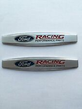 SET OF TWO NEW FORD RACING PERFORMANCE PARTS EMBLEM BADGES METAL