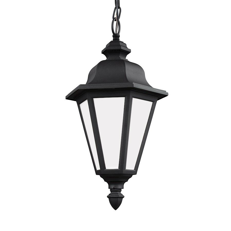 Sea Gull Lighting Brentwood 1 Luz Colgante al aire libre, negro - 69025-12