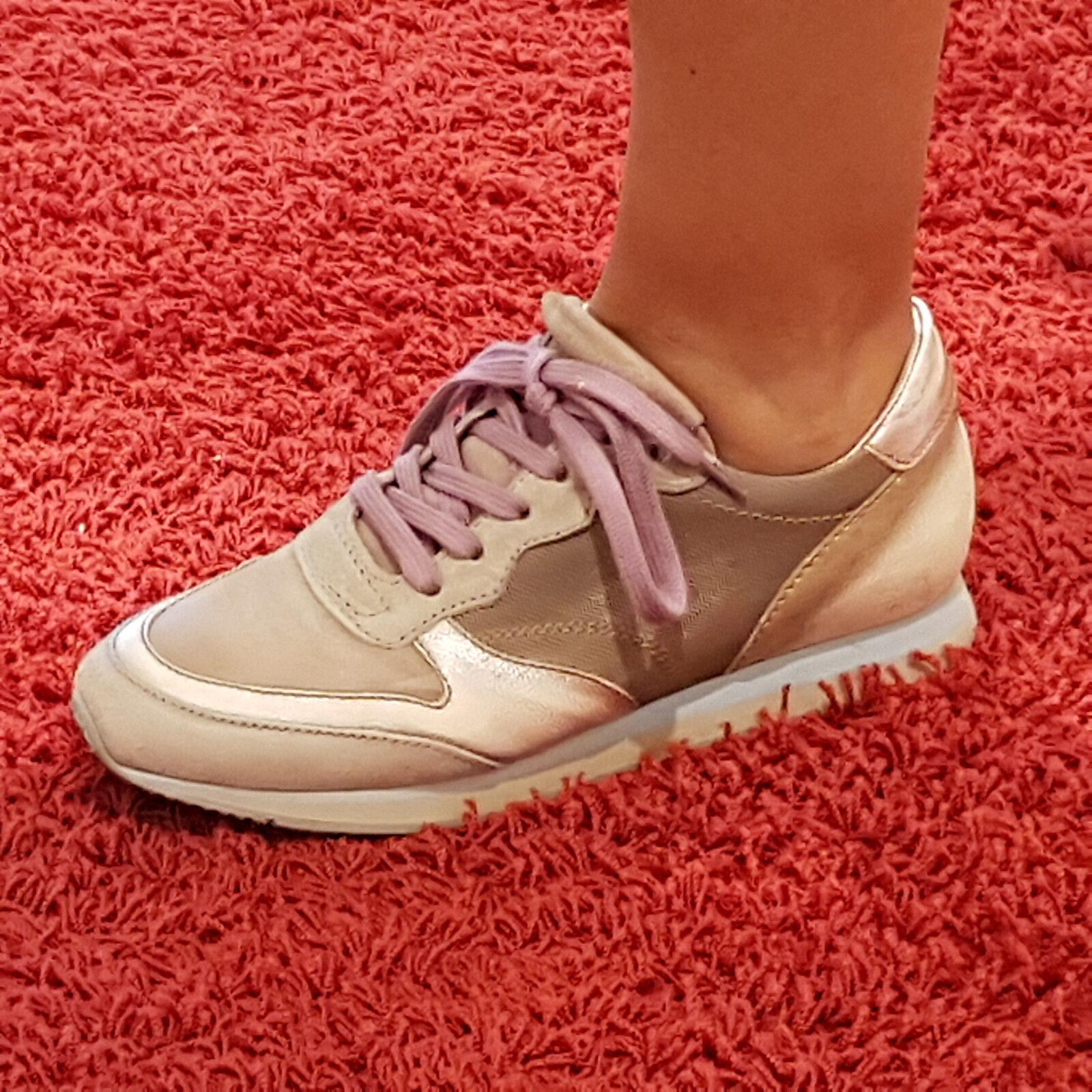 Grandes zapatos con descuento 030 Berlin by Mjus Damen Sneaker Schnürschuhe Schuhe rose Leder NEU Gr.37