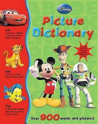 """""""AS NEW"""" Parragon Books, Disney My Picture Dictionary Book"""