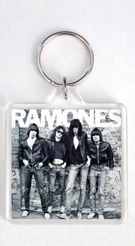 RAMONES 1976 LP COVER KEYRING LLAVERO