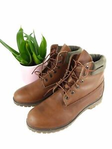 Timberland-Brown-Boots-Size-10