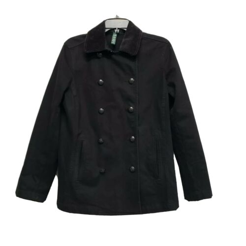 Lauren Jeans Co. Jacket With Cordoroy Collar Women