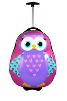Travel Pals Rolling Luggage 52cm Owl 1.7kg