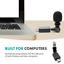 thumbnail 5 - Movo MA5U Mini Omnidirectional Microphone for USB, Computer, PC, Laptop, Gaming