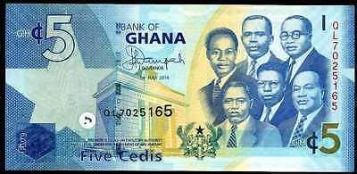 P 38b  Uncirculated Banknotes 5  CEDIS  2010   Prefix ME GHANA