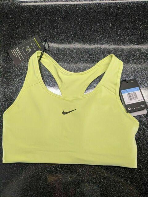 Nike Swoosh Sports Bra Women's (Size XS)Green DriFit Support #BV3636 367,RET $35