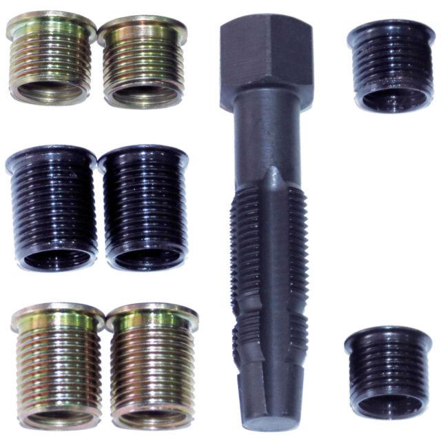 Reibahlensatz Reparatursatz für Glühkerzenbohrungen Glühkerzengewinde M8-M10-M12