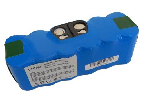 625 BATTERIE aspirateur 14.4V 4500mAh pour iRobot Roomba 620 630 650