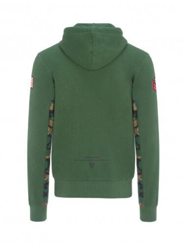 Official Nicky Hayden 69 Green Camo Full Zip Hoodie 19 34003
