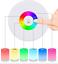 Portable-Bedside-Children-KIDS-Table-Lamp-RGB-LED-Colour-Changing-UK-STOCK miniatuur 4