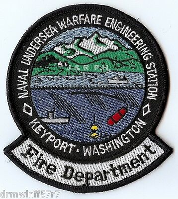"EMBROIDERED  NEW FIRE PATCH WILLOW ALASKA FIRE AND RESCUE 4.5 X 5/"" size"