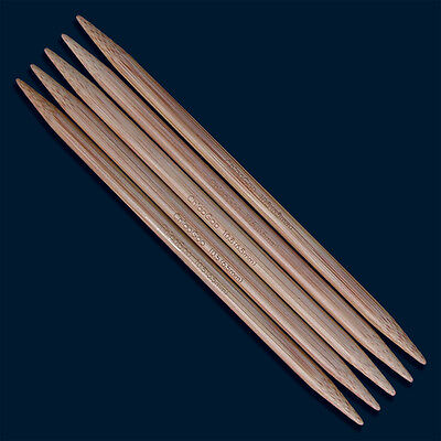 chiaogoo Double Point Stainless Steel Knitting Needles 6 5//Pkg-Size 1//2.25Mm