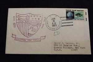 Navale-Cover-1971-Nave-Cancel-Nave-Marchio-Uscgc-Burton-Isola-WAGB-283-4123