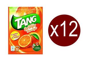12 Sachets de Tang gout Orange.boisson en Poudre.12 litres de Jus