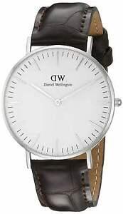 Original-Daniel-Wellington-Classic-York-Damenuhr-0610DW-Neu-amp-Ovp