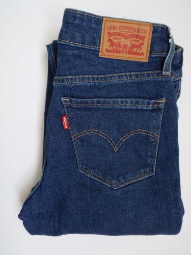 W24 Donna Levi's Jeans Strauss L32 Levm295 Slim Fit Blue Mid 712 UUXxEO