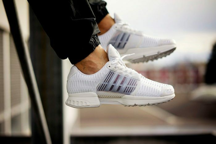 Mens Adidas Climacool 1 Clima Cool Running Sneakers New, White / Black bb0671 Cheap and beautiful fashion