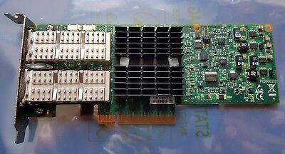 Dual Port Qsfp Ddr Infiniband 20gb Ethernet 10gbe Mellanox Mhrh 2a-xsr Pcie 2.0-