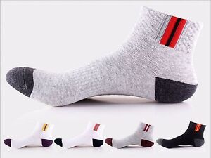 MENS 3 Pair  TRAINERS GYM SOCKS OUTDOOR RUNNING  WHITE BLACK 6-11 NY ANKLE