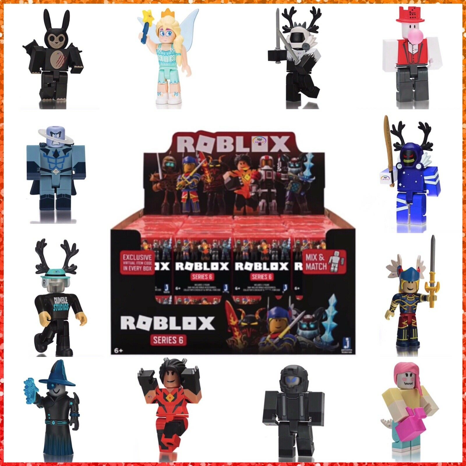 Roblox Series 4 Mystery Action Figures Toys W Jailbreak Inmate No