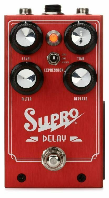 NEW SUPRO DELAY GUITAR EFFECTS PEDAL w  FREE US SHIPPING