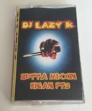 Vintage 90s Hip Hop Cassette Tape DJ Lazy K Butta Mixxin Pican Pt 3 Mixtape Rare