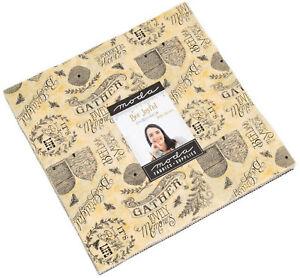 Bee-Joyful-Moda-Layer-Cake-42-100-Cotton-10-034-Precut-Quilt-Squares