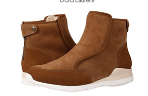 3b719b0e5a4 Details about UGG AUSTRALIA LAURELLE CHESTNUT ANKLE BOOTS WOMENS SHOES  SNEAKERS SIZE 6.5-9