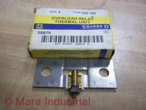 Square D DD185 Overload Thermal Unit Heating Element