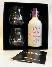 EDEN MILL Golf Gin - St. Andrews - 1x0,5L 42,0%vol - Gift Set + 2 Gläser