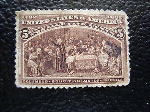 Vereinigte-Staaten-Briefmarke-Yvert-Und-Tellier-N-85-Gestempelt-A18-States