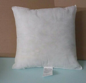 pillow form insert square hypo allergenic 20 x 20 new ebay. Black Bedroom Furniture Sets. Home Design Ideas