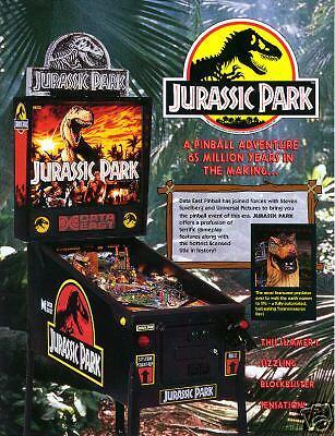 Jurassic Park pinball rom sound chip set