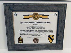 Military-Commemorative-Honorable-Service-Commemorative-Medal-Certificate