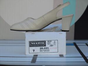 Mälich Damenschuhe Pumps Ballerinas Blau 80er True Vintage 80s Shoes Blue Nos Women's Vintage Shoes Clothing, Shoes & Accessories