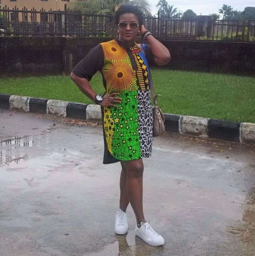 Womens African Print Dresses in Small and Medium sizes