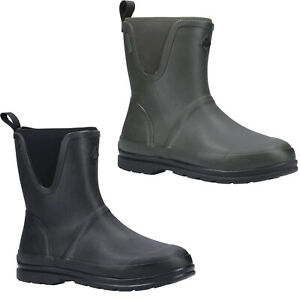Black All Sizes Muck Boots Originals Pull On Mid Wellington