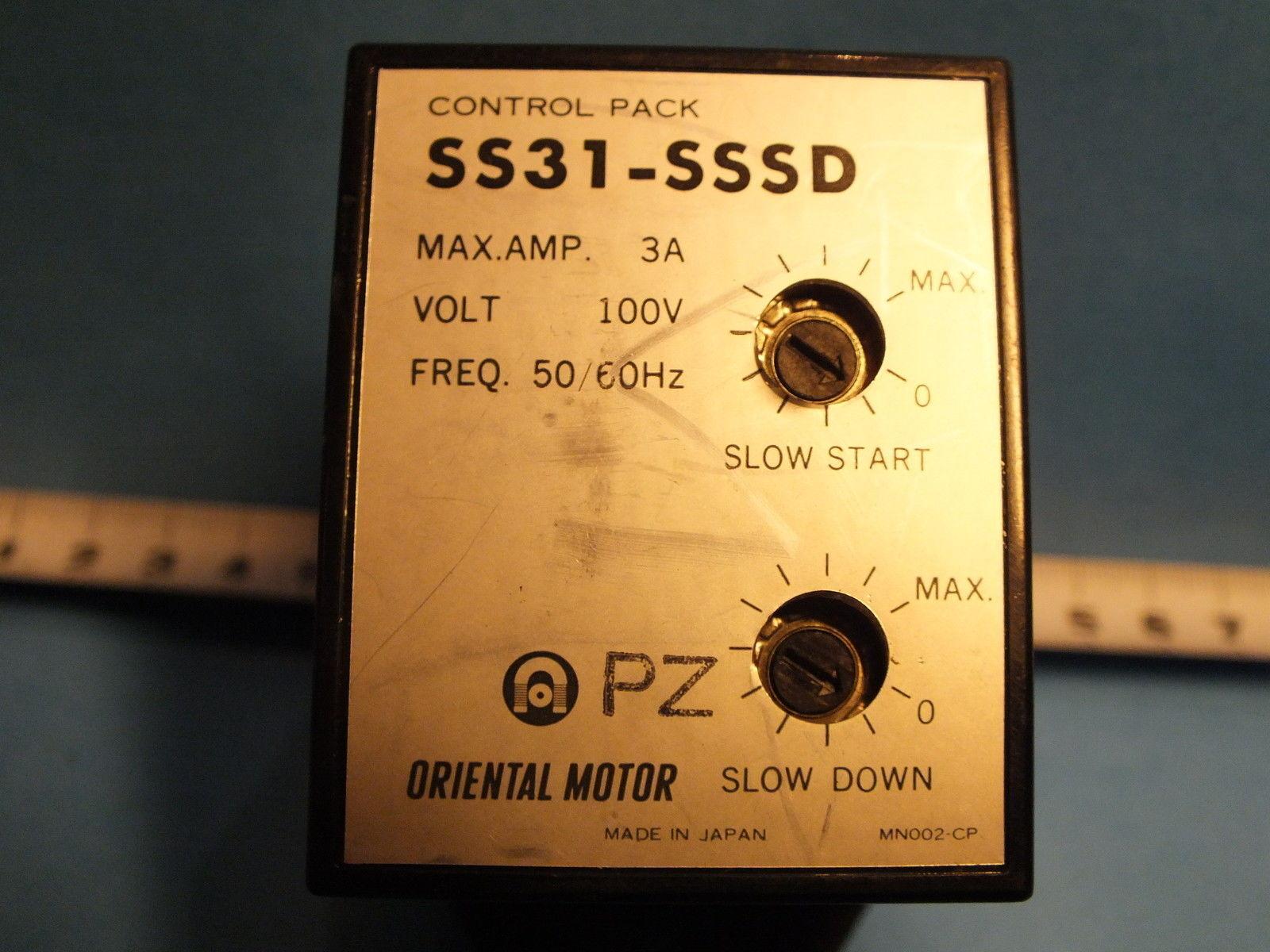 ORIENTAL MOTOR    SS31-SSSD