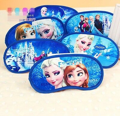 1pc New Hot Anna Elsa Frozen Travel Sleeping Sleep Aid Cover Blindfold Eye Mask