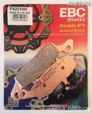 Kawasaki VN1500 Mean Streak (02 to 04) EBC Sintered REAR Brake Pads (FA231HH)