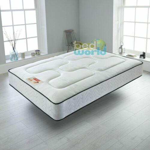 4ft Modern Grey Fabric Bed 5ft 3ft 4ft6 Optional Memory Foam Mattress