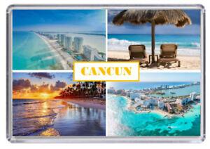Cancun Mexico Kühlschrank-Magnet 02