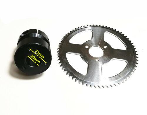 660mm 20mm Axle Kit DISC SPROCKET FOR MINI GO KART DRIFT KART PCD 50MM