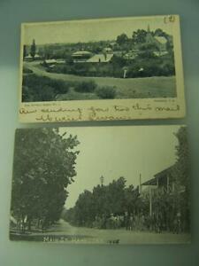 Two-photographic-postcards-1904-08-Hahndorf-South-Australia