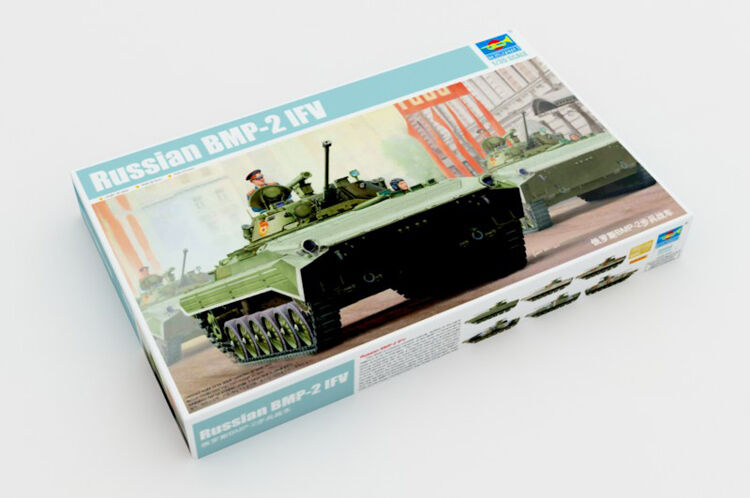 Trumpeter Russian BMP-2 Infantry Fighting Vehicle Model Car 05584 1 35 Scale