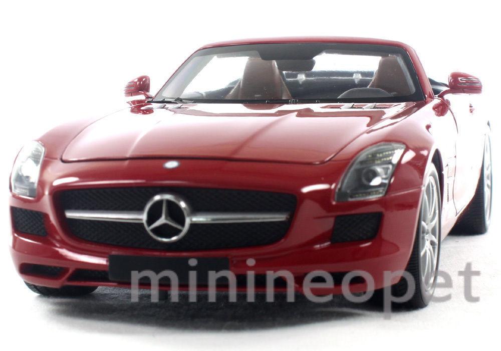 wholesape barato Minichamps 100-039030 2011 11 Mercedes Benz Sls Sls Sls Amg Roadster 1 18 Diecast Rojo  Entrega gratuita y rápida disponible.